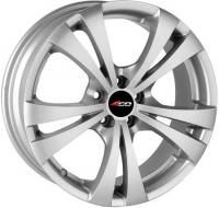 4GO 131 Silver Wheels - 15x6.5inches/5x110mm