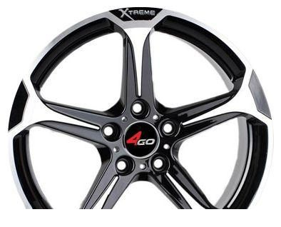 Wheel 4GO 228 18x8inches/5x114.3mm - picture, photo, image