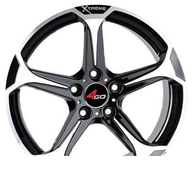 Wheel 4GO 228 GMMF 18x8inches/5x115mm - picture, photo, image
