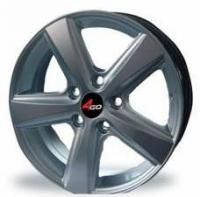 4GO 230 Silver Wheels - 15x6.5inches/4x100mm