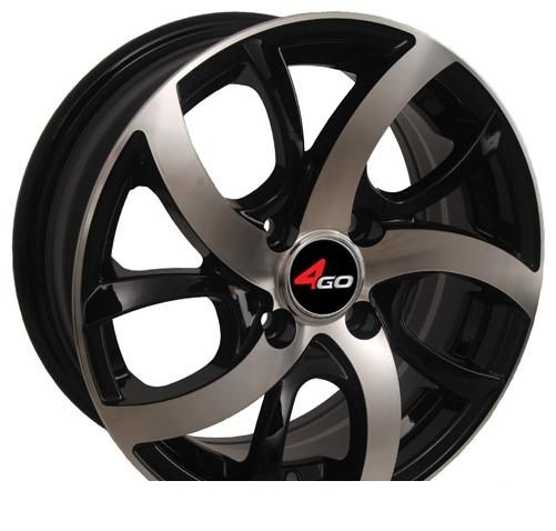 Wheel 4GO 243 BMF 13x5.5inches/4x98mm - picture, photo, image