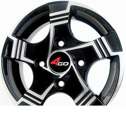 Wheel 4GO 247 BMF 13x5.5inches/4x98mm - picture, photo, image