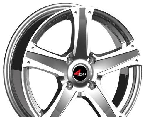 Wheel 4GO 266 GMMF 15x6.5inches/4x98mm - picture, photo, image