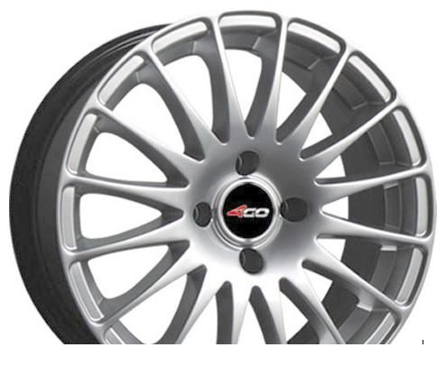 Wheel 4GO 30R White 16x7inches/4x114.3mm - picture, photo, image
