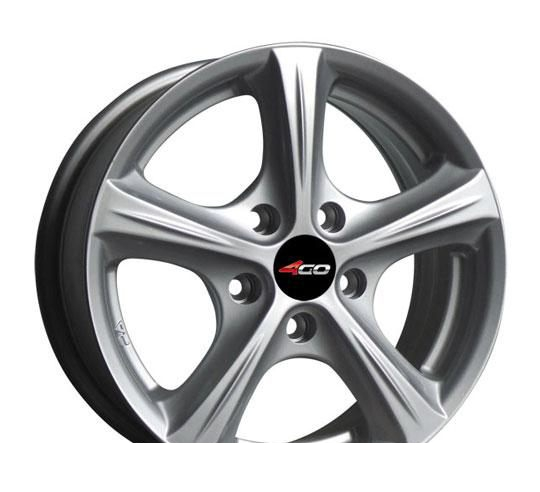 Wheel 4GO 42 BMF 16x7.5inches/5x114.3mm - picture, photo, image