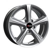 4GO 42 Silver Wheels - 16x7.5inches/5x114.3mm