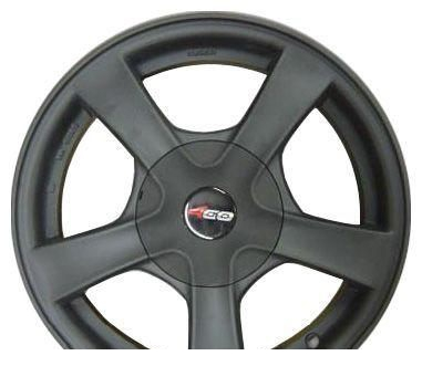 Wheel 4GO 517 Silver 15x6.5inches/4x114.3mm - picture, photo, image