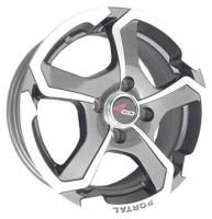 4GO 5273 Silver Wheels - 14x6inches/4x98mm