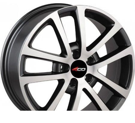 Wheel 4GO 531 MBMF 17x7inches/5x108mm - picture, photo, image