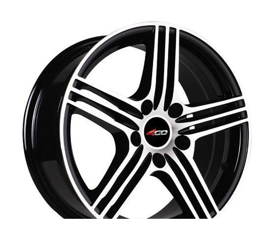 Wheel 4GO 534 White 15x6.5inches/4x98mm - picture, photo, image