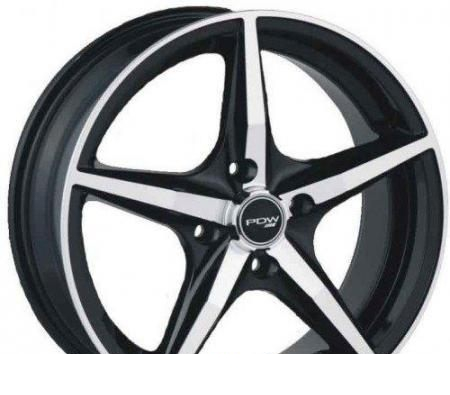 Wheel 4GO 539 BMF 15x6.5inches/4x100mm - picture, photo, image