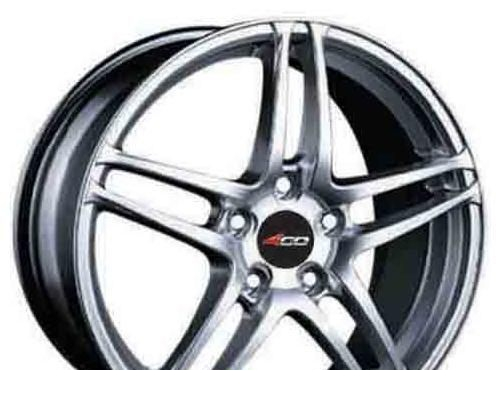 Wheel 4GO 540 White 13x5.5inches/4x98mm - picture, photo, image