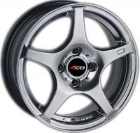 4GO 550 Silver Wheels - 15x6.5inches/4x98mm