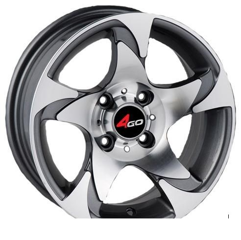 Wheel 4GO 552 GMMF 14x6inches/4x100mm - picture, photo, image