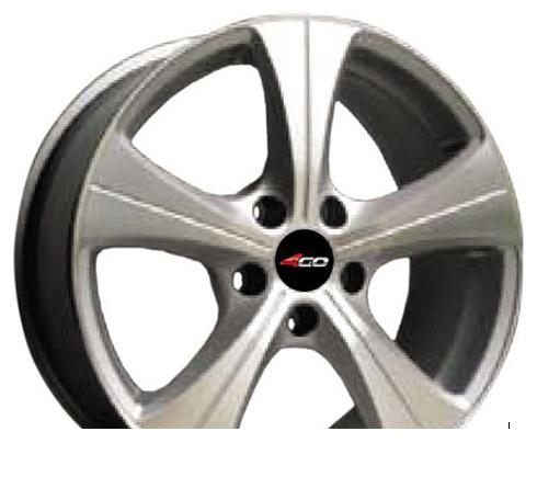 Wheel 4GO 56 GM 15x6inches/4x114.3mm - picture, photo, image