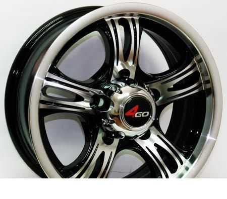 Wheel 4GO 571 GMMFL 16x6.5inches/5x139.7mm - picture, photo, image