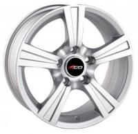 4GO 598 Silver Wheels - 15x6.5inches/5x114.3mm