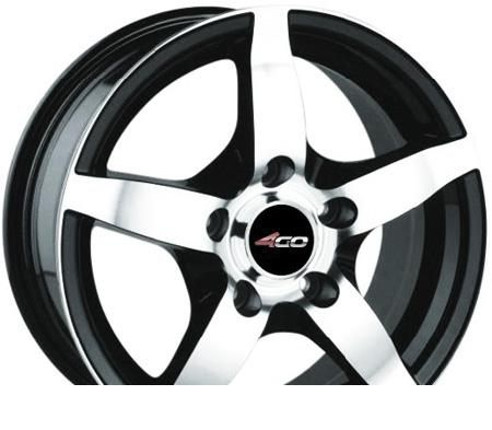 Wheel 4GO 599 BMF 15x6.5inches/4x100mm - picture, photo, image