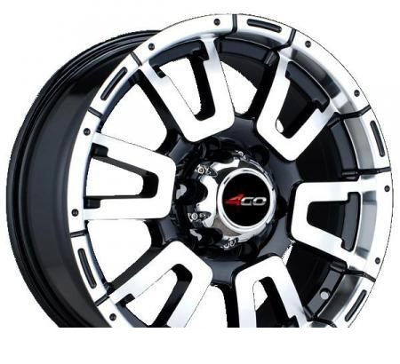 Wheel 4GO 642 SMFL 16x7.5inches/5x139.7mm - picture, photo, image