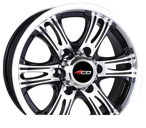 Wheel 4GO 643 GMMF 16x7.5inches/6x139.7mm - picture, photo, image