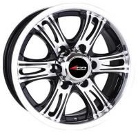 4GO 643 Wheels - 17x7.5inches/6x139.7mm
