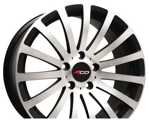 Wheel 4GO 66R MBMF 15x6.5inches/4x108mm - picture, photo, image