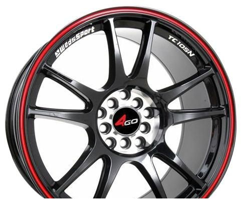 Wheel 4GO 824 BMF 17x7.5inches/5x105mm - picture, photo, image