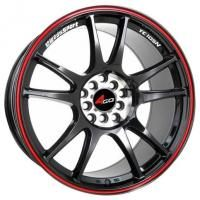 4GO 824 MBMFRL Wheels - 17x7.5inches/5x105mm