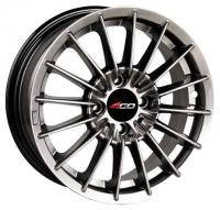 4GO 869 Black Wheels - 14x6inches/4x98mm