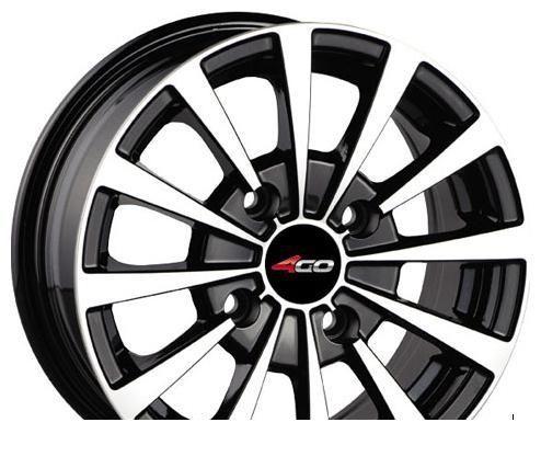 Wheel 4GO 894 BMFB 14x6inches/4x100mm - picture, photo, image