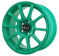 4GO 9039 Green Wheels - 15x6.5inches/5x100mm