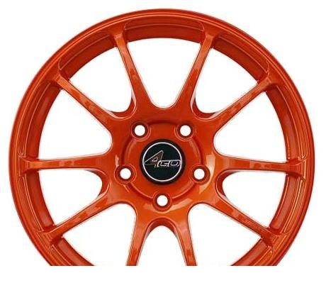 Wheel 4GO 9040 Green 16x7inches/4x98mm - picture, photo, image
