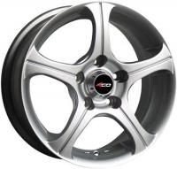 4GO CT001 Silver Wheels - 14x5.5inches/4x100mm