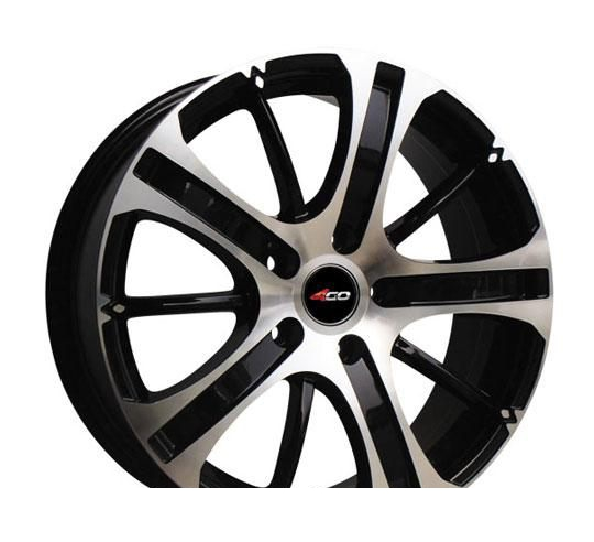 Wheel 4GO HH069 BMF 15x6inches/4x108mm - picture, photo, image