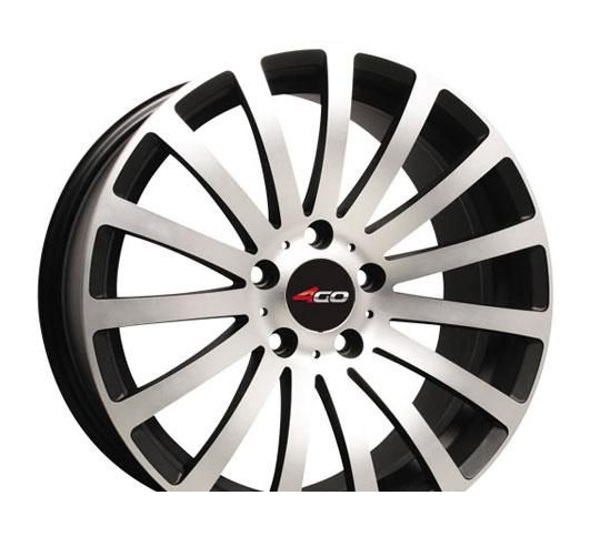 Wheel 4GO HS66R GMMF 16x7inches/4x114.3mm - picture, photo, image