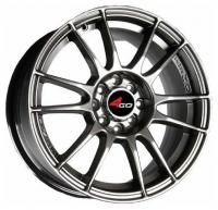 4GO JJ106 Silver Wheels - 15x6inches/4x100mm