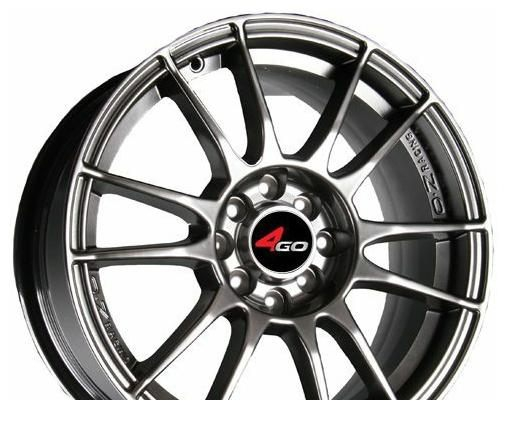 Wheel 4GO JJ106 White 17x7inches/4x98mm - picture, photo, image