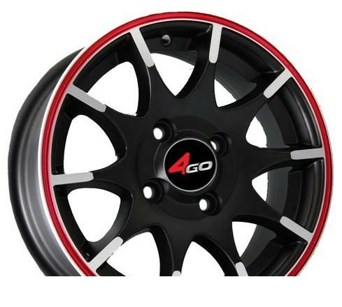 Wheel 4GO JJ112 BMF 13x5.5inches/4x100mm - picture, photo, image