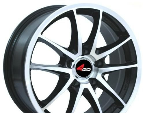Wheel 4GO JJ130 GMMF 15x6.5inches/4x100mm - picture, photo, image