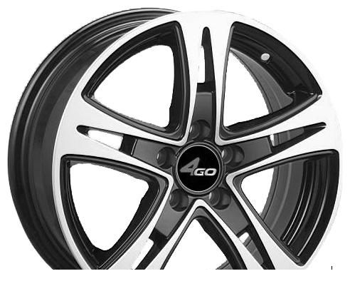 Wheel 4GO JJ523 GMMF 15x6.5inches/5x112mm - picture, photo, image