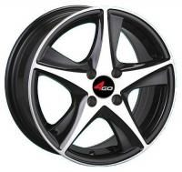 4GO JJ525 BMF Wheels - 15x6.5inches/5x108mm