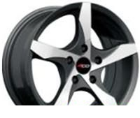 Wheel 4GO JJ544 GMMF 17x7inches/5x114.3mm - picture, photo, image
