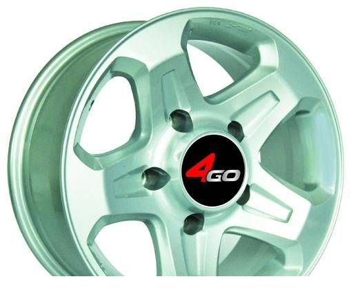 Wheel 4GO LC76 BMF 16x7inches/5x139.7mm - picture, photo, image