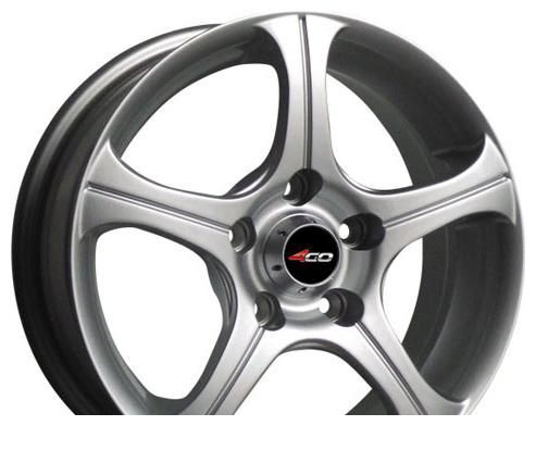 Wheel 4GO LF016 GM 13x4.5inches/4x114.3mm - picture, photo, image