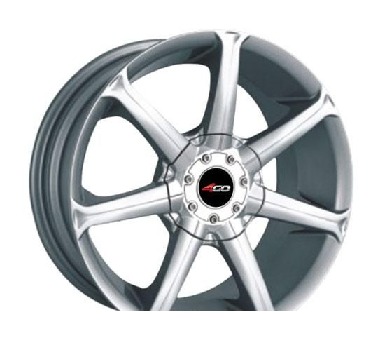 Wheel 4GO P7005 Silver 15x6.5inches/4x98mm - picture, photo, image