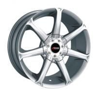4GO P7005 Silver Wheels - 15x6.5inches/4x98mm