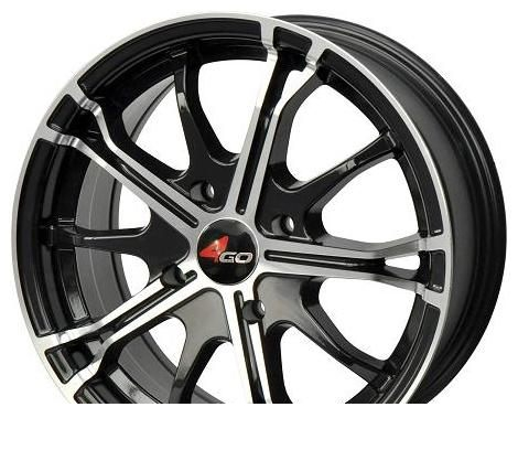 Wheel 4GO RL10 GMMF 16x7inches/4x114.3mm - picture, photo, image