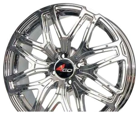Wheel 4GO RL3 GMMF 15x6.5inches/4x100mm - picture, photo, image