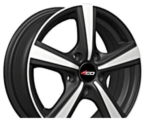 Wheel 4GO RL4 GMMF 14x6inches/4x98mm - picture, photo, image