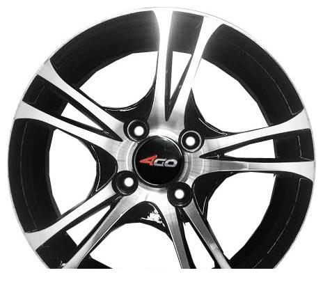 Wheel 4GO RL9 BMF 15x6.5inches/4x100mm - picture, photo, image